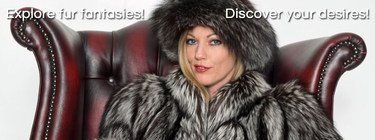 The Love Of Fur cougar milf Holly Kiss luxury fantasy story in fox fur jacket hat
